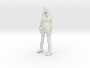 Printle C Femme 233 - 1/32 - wob in White Natural Versatile Plastic