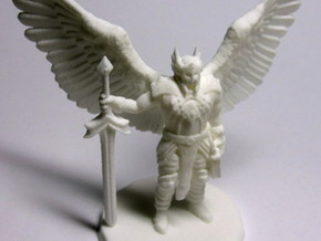 Bringer Of Justice - Small in White Strong & Flexible