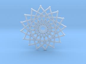 Internal Sun in Smooth Fine Detail Plastic