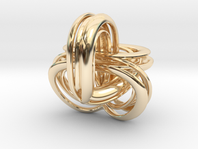 Parallel Universe - Helen in 14k Gold Plated Brass