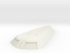 1/1000 Ingram Shuttle Bay - resized in White Natural Versatile Plastic