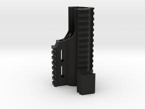SCAR Extended Rails in Black Natural Versatile Plastic