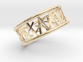 Tamb ring in 14K Yellow Gold: 8.75 / 58.375