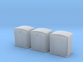 TJ-H01118x3 - Bennes à verre in Smooth Fine Detail Plastic