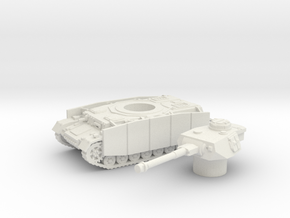 Pz.Kpfw. IV Ausf. tank (Germany) 1/87 in White Natural Versatile Plastic