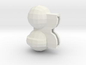 Bino in White Strong & Flexible