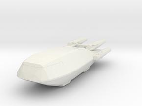 Shuttle (Battlestar Galactica TRS), 1/270 in White Natural Versatile Plastic
