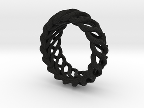 AlienBracelet I in Black Natural Versatile Plastic