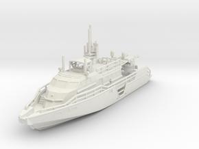1/144 USN MKVI Patrol Boat Water Line in White Natural Versatile Plastic