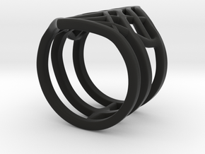 Black Widow Ring in Black Strong & Flexible: 6 / 51.5