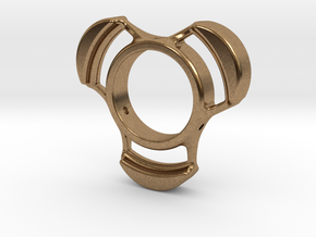 Spinner (Metal) for Small Hands/Kids/Toddlers in Natural Brass