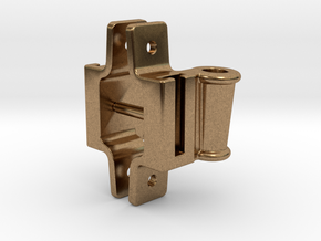 "Classification Lamp Bracket Set - 1.5"" Scale in Natural Brass"