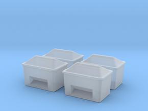 TJ-H01129x4 - Bacs à sable ou a sel in Smooth Fine Detail Plastic