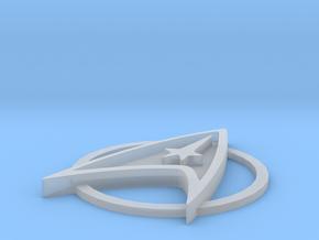 50mm Star Trek TMP in Smooth Fine Detail Plastic