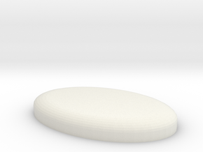 Oval Base in White Strong & Flexible
