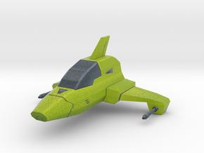 Mini cartoon Starship in Full Color Sandstone
