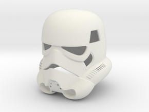 Stormtrooper Helmet in White Natural Versatile Plastic