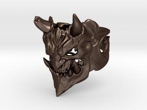 Demon ring in Matte Bronze Steel: 1.5 / 40.5