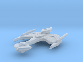 Klingon Negh'Var Class 1/15000 in Smooth Fine Detail Plastic