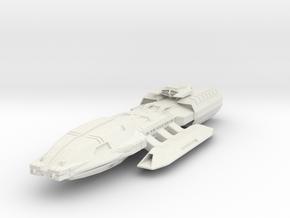 Pegasus Class BattleStar in White Natural Versatile Plastic