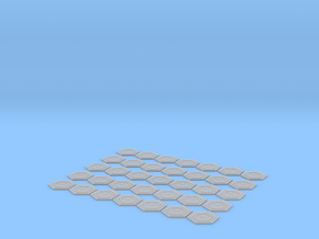 VALLEY FORGE HEXAGON SET in Smooth Fine Detail Plastic