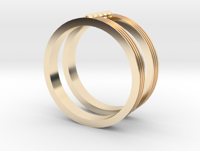 Fashion ring in 14K Yellow Gold: 8.25 / 57.125