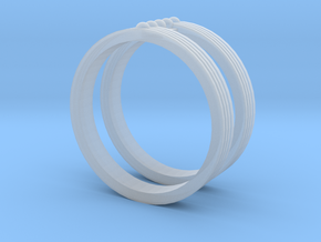 Fashion ring in Smooth Fine Detail Plastic: 10.5 / 62.75