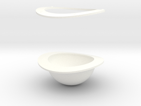 1.4 Phare Avant MD500 in White Processed Versatile Plastic