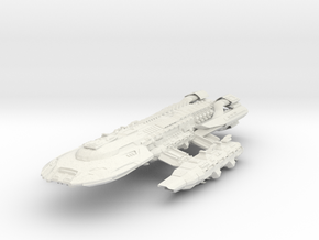 BSG  NovaStar Class  HvyBattleStar in White Strong & Flexible