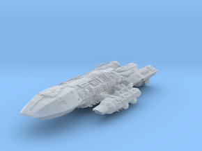 BSG  Scarab Class  BattleDestroyer in Smooth Fine Detail Plastic