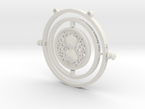 Time Turner in White Natural Versatile Plastic