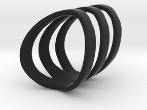 Chase Ring in Black Strong & Flexible: 6 / 51.5