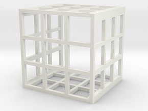 Uc Stones Cage in White Strong & Flexible