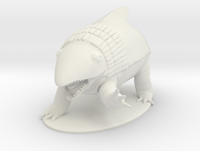 Bulette Miniature in White Natural Versatile Plastic: 1:55