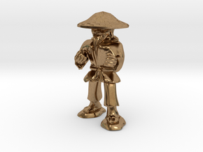 Dwarven Monk  in Natural Brass: 1:30