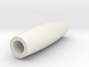 Artisan Mini Key Ring Pen Tube smooth in White Strong & Flexible