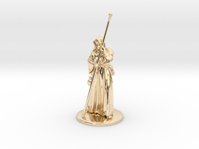 Raistlin Miniature in 14k Gold Plated: 1:60.96