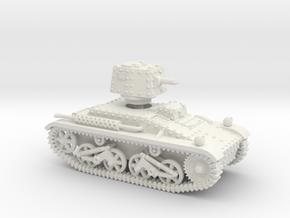 Vickers Light Mk.IIIb Dutchman  (1-87 scale) in White Natural Versatile Plastic