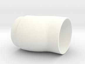 160047-04-01[1] Tube in White Processed Versatile Plastic