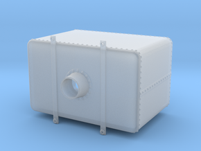 Rectangular Riveted Water Tank with Hatch in Smooth Fine Detail Plastic: 1:48 - O