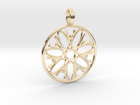 DAWNING SISTARS in 14k Gold Plated Brass