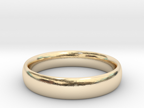 Engagement Band in 14k Gold Plated Brass
