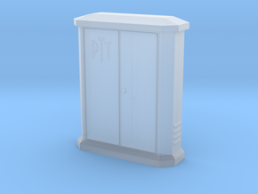 TJ-H01148 - Armoire PTT petite in Smooth Fine Detail Plastic