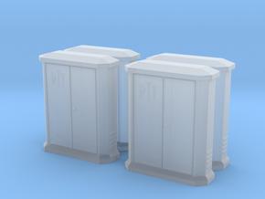 TJ-H01148x4 - Armoires PTT petites in Smooth Fine Detail Plastic