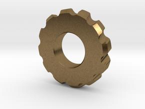 Gear Spinner in Natural Bronze