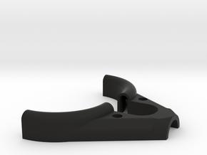 Thumb Loop V3 in Black Natural Versatile Plastic