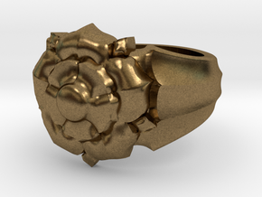 Tyrell Ring in Natural Bronze: 5 / 49