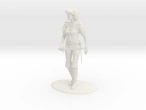 Maquesta Kar-Thon Miniature in White Strong & Flexible: 1:55