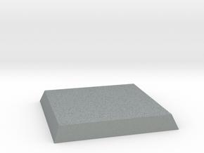 Square Base in Polished Metallic Plastic