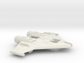 Twin-Cockpit Dueller's Wings in White Strong & Flexible